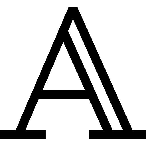 Піктограми та букви